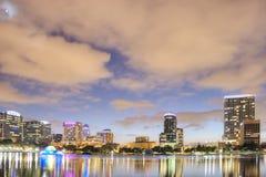 Orlando at night Royalty Free Stock Photos