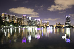 Orlando at Night Royalty Free Stock Image