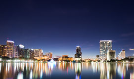 Orlando at Night Stock Images