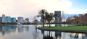 Orlando panorama Royalty Free Stock Photography