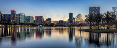 Orlando Panorama Stock Photo