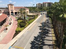 Orlando Premium Outlets, Orlando, FL. The Orlando Premium Outlets located in Orlando, Florida royalty free stock photography