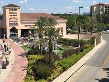 Orlando Premium Outlets, Orlando, FL. The Orlando Premium Outlets located in Orlando, Florida stock photos