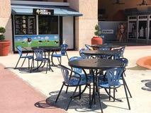 Ben & Jerry`s Ice Cream, Orlando Premium Outlets, Orlando, FL. The Orlando Premium Outlets located in Orlando, Florida stock photo