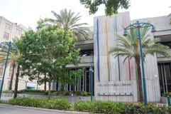 Orlando Public Library, Orlando Florida Van de binnenstad, 26 April, 2017, Royalty-vrije Stock Afbeelding