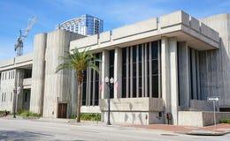 Orlando Public Library, Orlando Florida Van de binnenstad, 26 April, 2017, Royalty-vrije Stock Fotografie