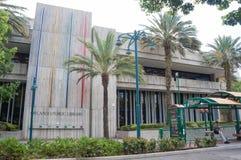 Orlando Public Library, Orlando Florida Van de binnenstad, 26 April, 2017, Stock Afbeelding