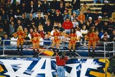 Orlando Rage-Cheerleadern Lizenzfreies Stockbild