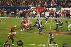 Orlando Rage v. Chicago Enforcers, XFL football. Stock Image
