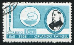 Orlando Rangel drukujący Brazylia Obraz Stock