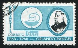 Orlando Rangel ha stampato dal Brasile Immagine Stock
