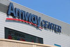 Orlando's Amway Center sign home of the Orlando Magic Royalty Free Stock Image