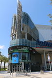 Orlando's Amway Center sign home of the Orlando Magic Royalty Free Stock Images