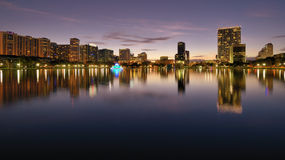 Orlando Skyline Royalty Free Stock Photo