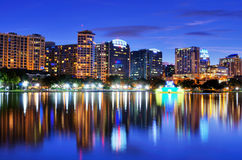 Orlando Skyline Stock Photos