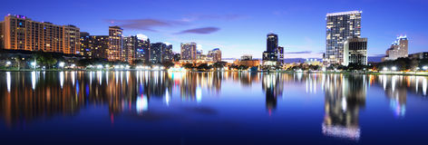 Orlando Skyline Royalty Free Stock Images