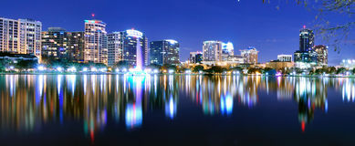 Orlando Skyline Royalty Free Stock Photos