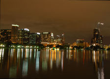 Orlando Skyline royalty free stock image