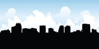 Orlando Skyline arkivbild