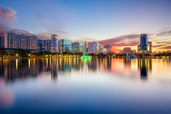 Orlando Skyline Stock Photo