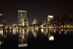Orlando skyline late evening Royalty Free Stock Photos