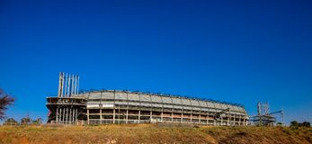Orlando Soccer Stadium à Soweto Image libre de droits