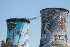 Orlando Towers em Soweto Imagem de Stock