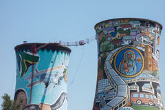 Orlando Towers in Soweto Stock Image