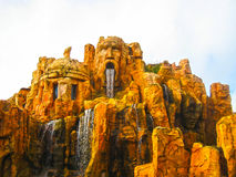 Orlando, USA - January 02, 2014: The themed attractions at Universal Studios Islands of Adventure theme park Stock Photo