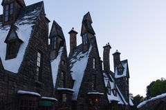 Orlando, USA - June 22, 2016 -The Wizarding World of Harry Potter - Castle - Universal Studios Florida Stock Images