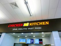 Orlando, USA - May 10, 2018: The fast food cafe or restaurant Chicken Kitchen stock photo