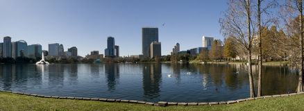 Orlando van de binnenstad, Florida Stock Foto