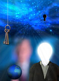 Orld key creativity Royalty Free Stock Photo