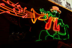 The Orleans Casino Alligator Sign Stock Images