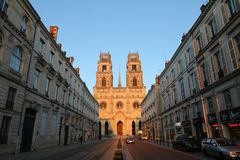 Orleans cathedral in France Stock Photography