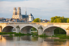 Orleans at a cloudy day Royalty Free Stock Photo
