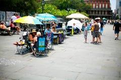 orleans nowi sprzedawca uliczny Zdjęcie Stock
