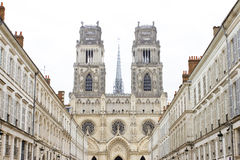 Orleans Cathedral Royalty Free Stock Photos
