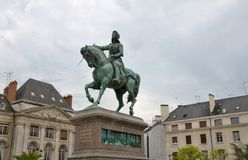 Orleans Statue Jeanne d Arc, France Stock Photo