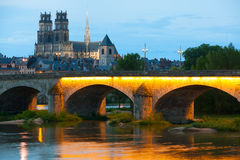 Orleans at a summer evening Stock Photography