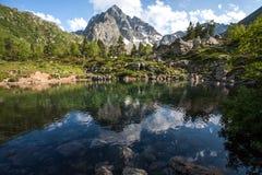 Orlenok lake Arhyz Stock Photo