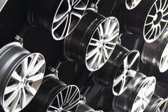 Orli del veicolo di trasporto del metallo Fotografia Stock