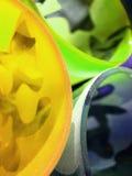 Orli di vetro Fotografie Stock