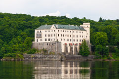Orlik Castle, Δημοκρατία της Τσεχίας Στοκ Εικόνα