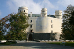 Orlik Castle Stock Photo