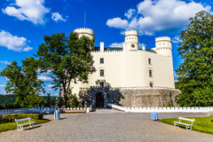 Orlik castle-South Bohemia, Czech Republic Stock Photos