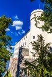 Orlik castle-South Bohemia, Czech Republic Stock Photos