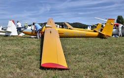 Orlik glider on start grid royalty free stock photos