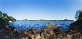 Orlik Reservoir Royalty Free Stock Image