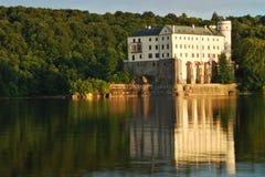Orlik Schloss Stockbild